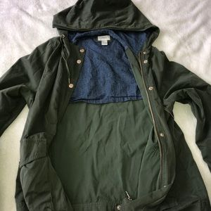 Green Spring Army Jacket